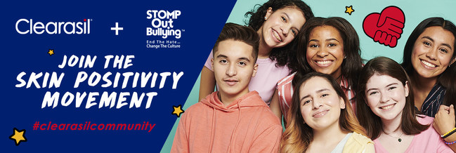 Clearasil Steps Up to End Bullying, Support Skin Positivity image