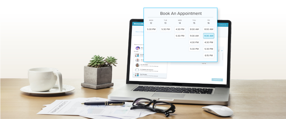 Demandforce Launches Online Booking Functionality image