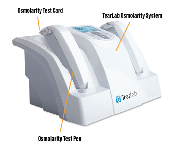 <p>Figure 1. TearLab Osmolarity System.</p>