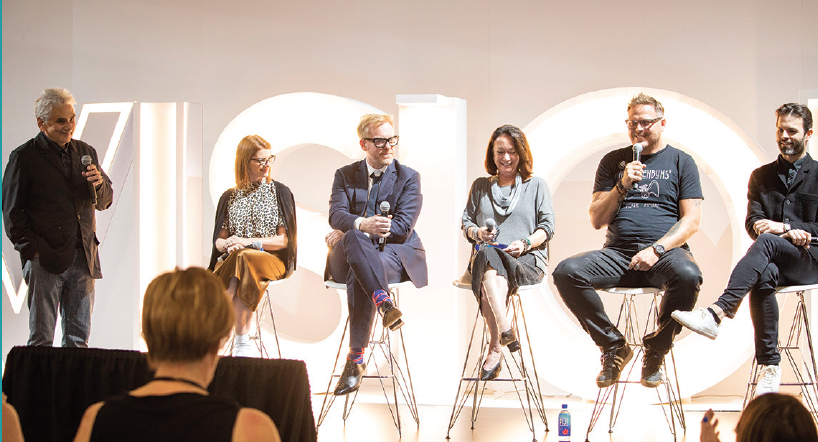 <p>Figure 5. The Boutique Buyer Panel, titled Freedom Sighters, provides an inside look at the realm of independent eyewear.</p>