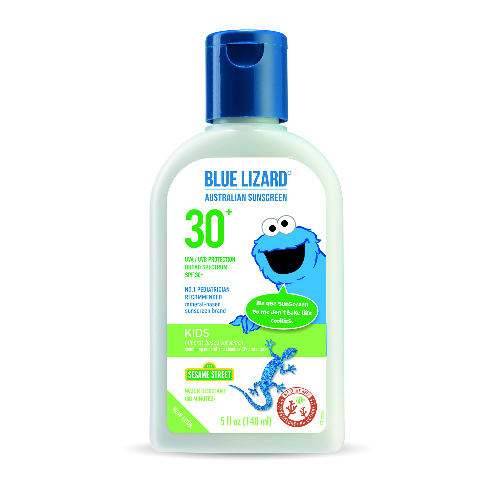 Blue Lizard Australian Sunscreen Partners with Sesame Workshop, Boston Red Sox image