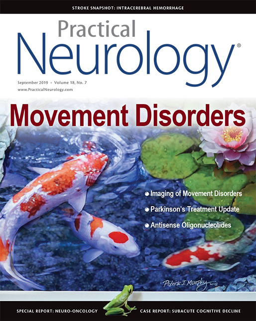 About The Cover Artist - Practical Neurology