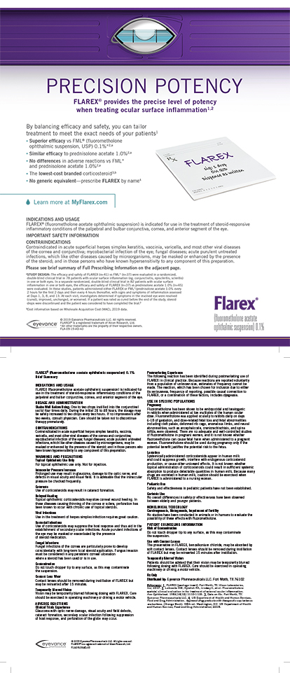 Eyevance Pharmaceuticals Flarex 1119 (Mobile)