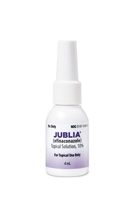 FDA Approves Ortho Dermatologics' Jublia to Treat Onychomycosis in Patients As Young As Six Years Old image