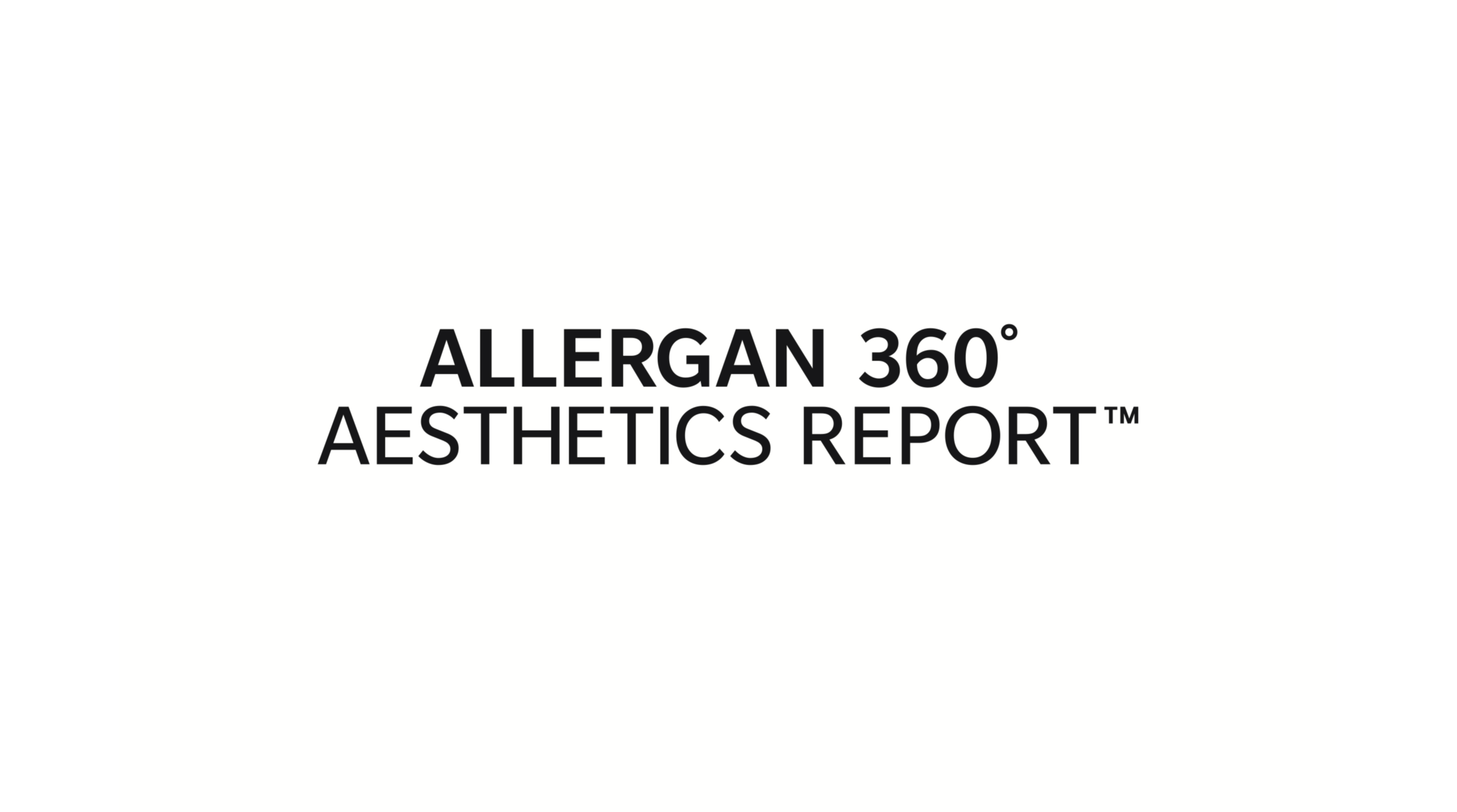 Allergan 360° Aesthetics Report Shines Light on Evolving Beauty Perceptions Around the World image
