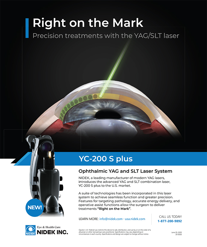 Nidek YC-200 S Plus 0820