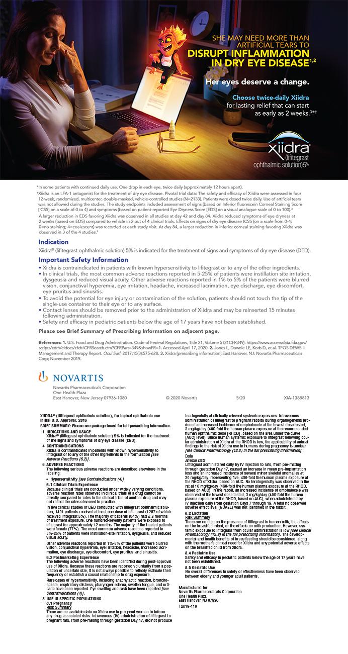Novartis Xiidra 0620