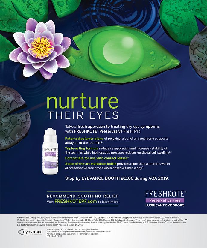 Eyevance Pharmaceuticals Freshkote