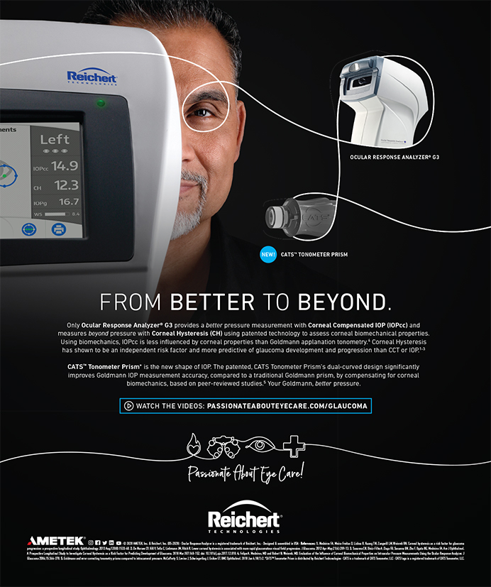 Reichert Ocular Response Analyzer 0820