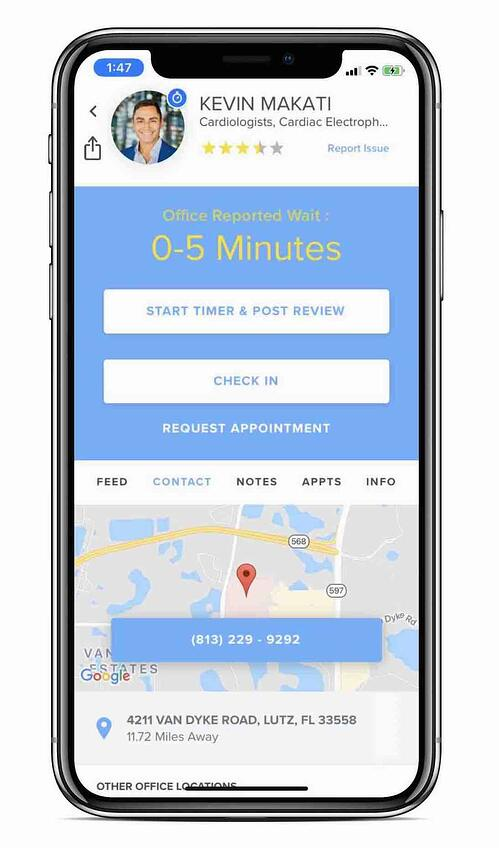 Physician-Created App Unveils Remote Check-In Feature to Prevent Spread of COVID-19 in Medical Practices image