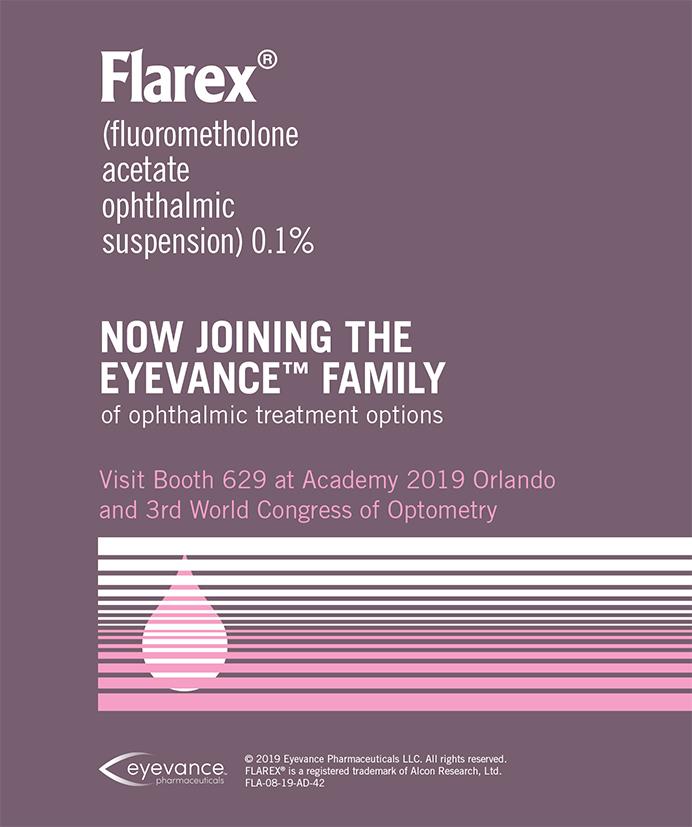 Eyevance Pharmaceuticals Flarex 0919
