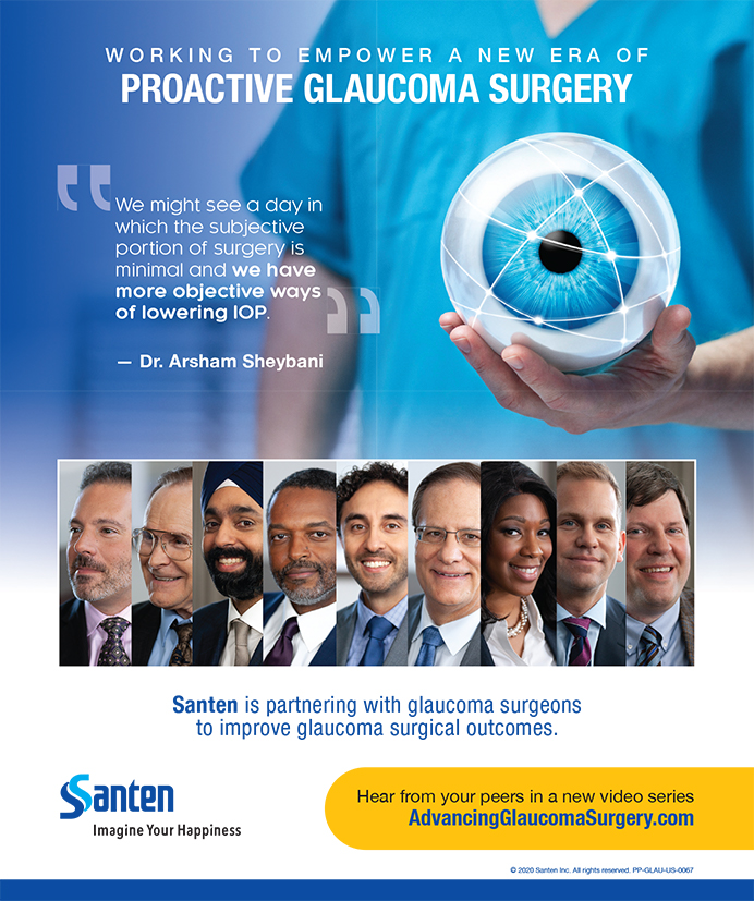 Santen Glaucoma Surgery 1020