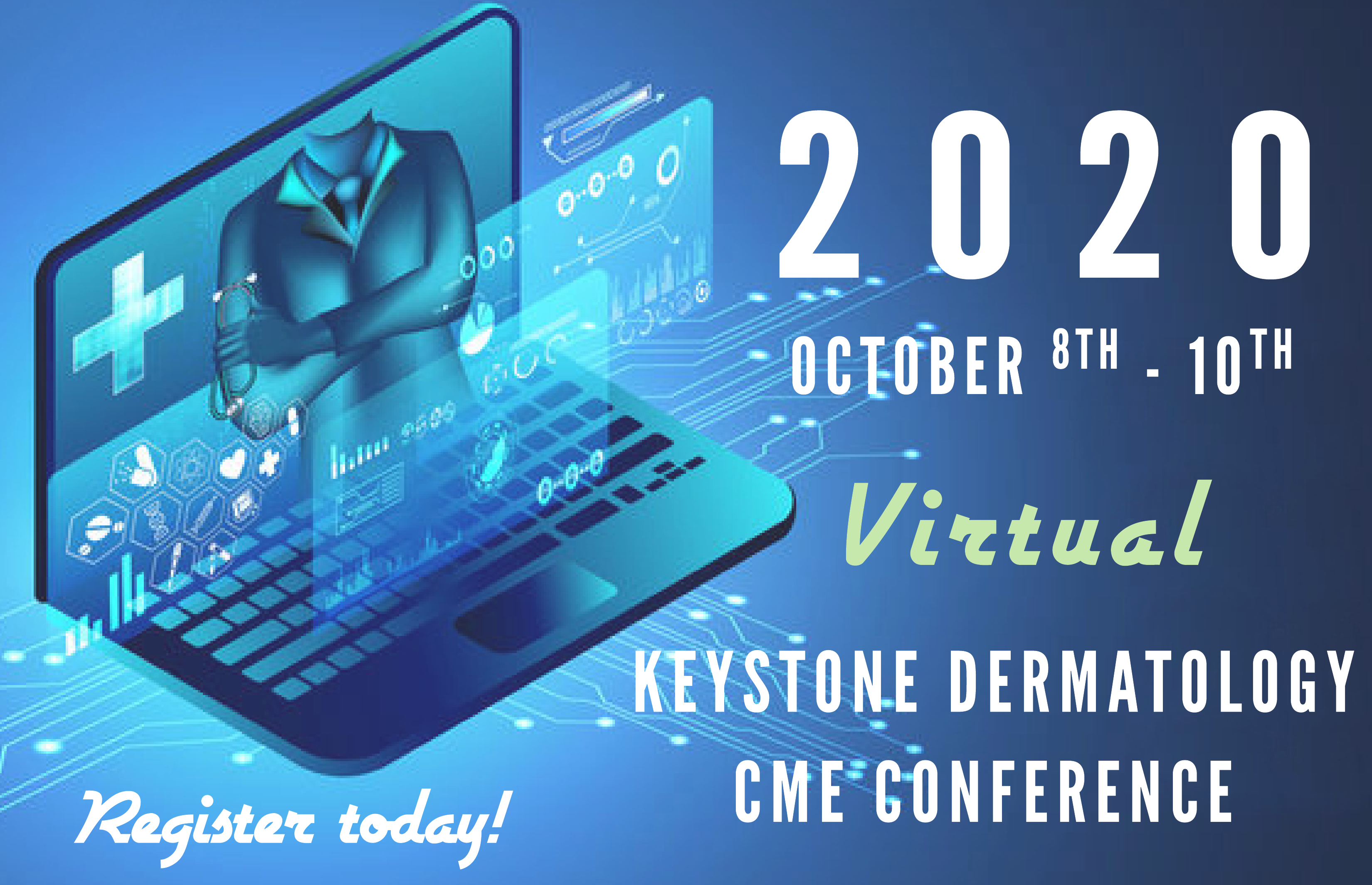 Keystone Dermatology Virtual CME Conference Coming October 8-10 image