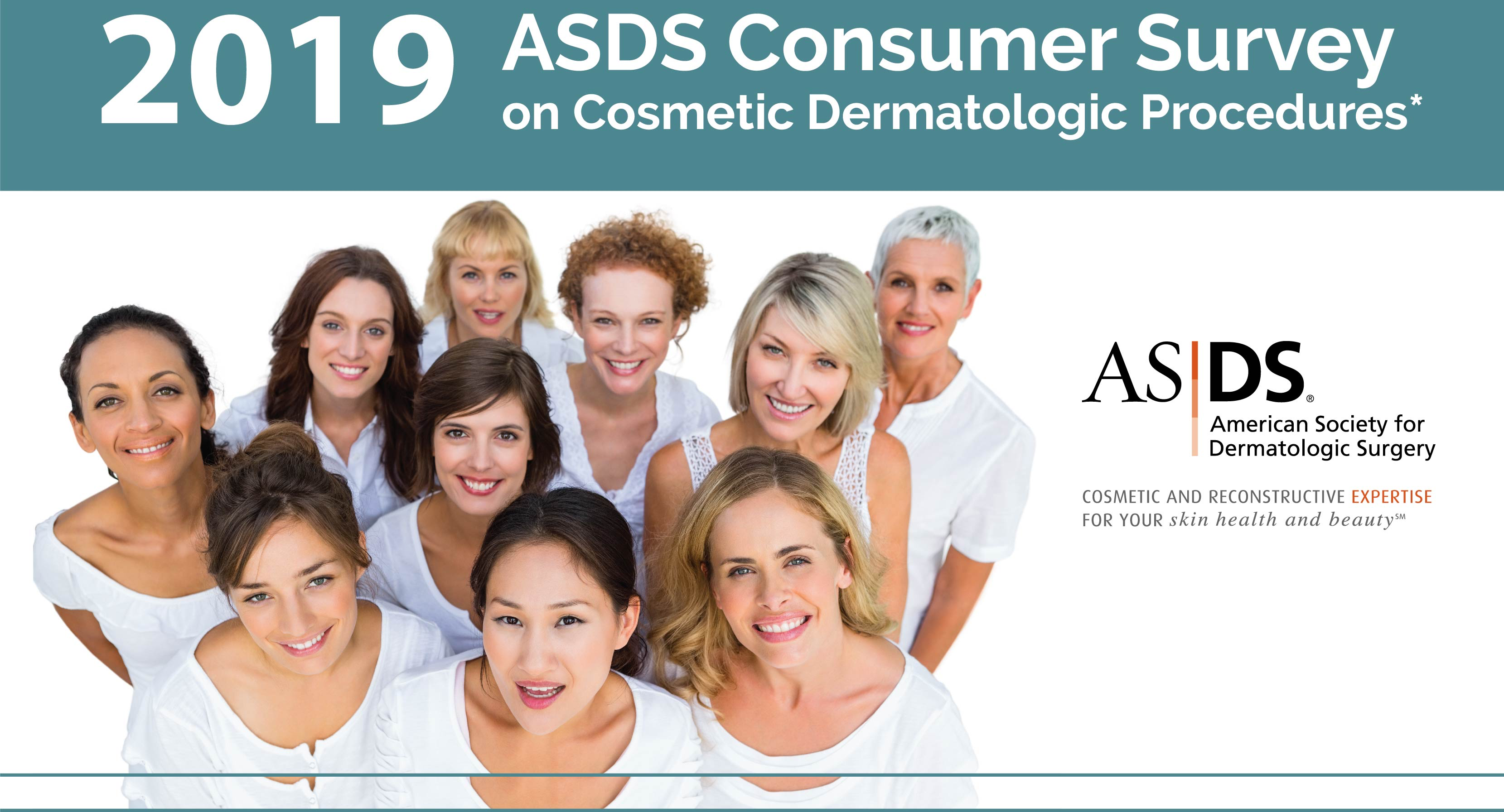 Consumers Site Dermatologists as Top Influencers of Cosmetic Procedure, Skin Care Choices: ASDS image