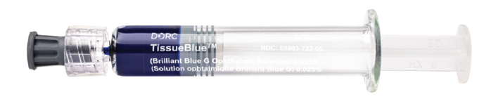 <p>Figure 3. TissueBlue in a prefilled syringe.</p>